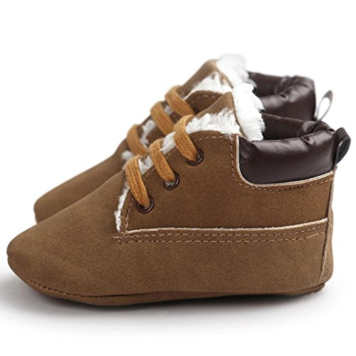 Jamicy® Weiche Sohle Leder Schuhe Winter warme jungen Mädchen Baumwoll-Schneeschuhe