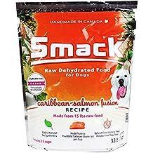Smack Pet Organic Crunchy Raw Dehydrated Dog Food GMO / Gluten / Grain / Antibiotic Free (Caribbean Salmon Fusion, 1.5 kg/3.30 lb)