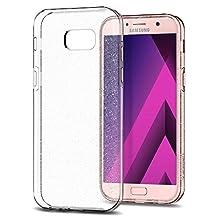 Galaxy A5 2017 Case, Galaxy A5 Case 2017, Spigen Liquid Crystal - Slim Protection and Premium Clarity for Samsung Galaxy A5 (2017) - Glitter Crystal Quartz