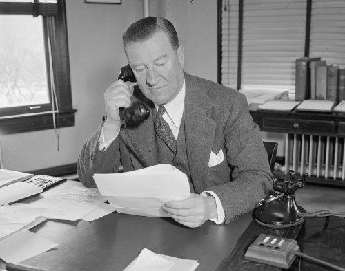 1938 Photo Federal Housing Administrator  Washington  D C   March 9  The Fede E9