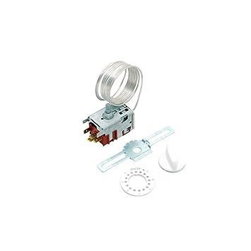 Termostato universal Danfoss n.º 3 para frigorífico o congelador, C00252671