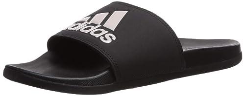 new concept 339ec 2db27 adidas Women s Adilette Comfort Sport Sandal Vapour Grey Metallic Black, ...