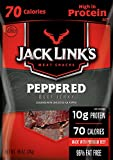 Jack Link's Reduced Sodium Beef Jerky, Peppered, 48 Count