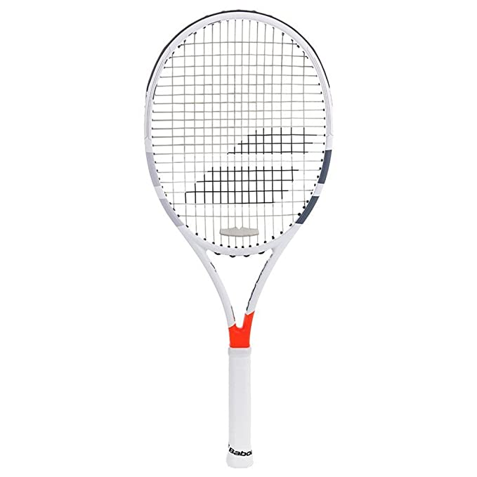 Amazon.com : Babolat Pure Strike Team Grey / Orange Tennis Racquet (4