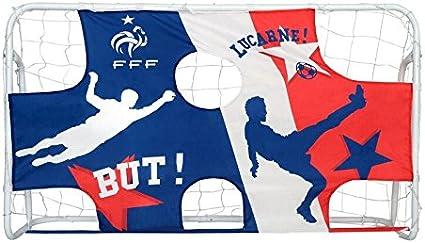 82 x 48 x 48 cm But de football RB Pop Up Pour lentra/înement en int/érieur ou en ext/érieur Pour enfants Filets de football portables avec sac de transport