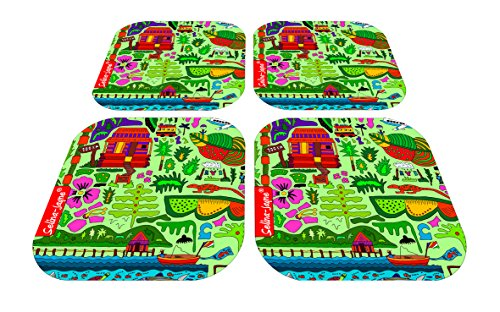 (Selina-Jayne Tropical Paradise Limited Edition Designer Coaster Gift Set)
