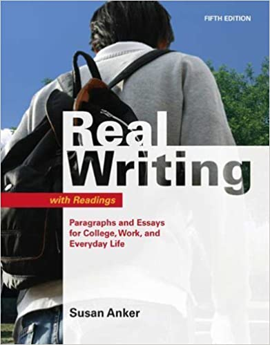 real essays with readings 3rd edition by susan anker Real essays with readings: susan anker (ba, med, boston since the publication of the first edition of real writing in 1998, anker has traveled extensively.