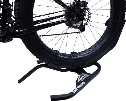 Skinz Protective Gear Fat Tire Bike Stand, Black