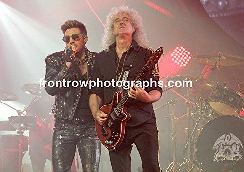 Queen Adam Lambert and Brian May 8