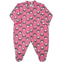 Macacão Pijama Bebê Microsoft Estampado - Rosa P
