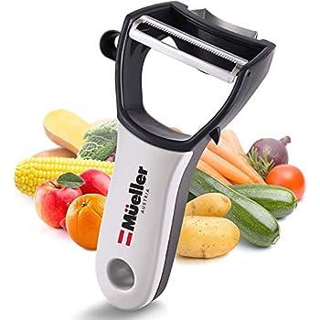 Amazon.com: Zulay - Pelador de verduras giratorio de acero ...