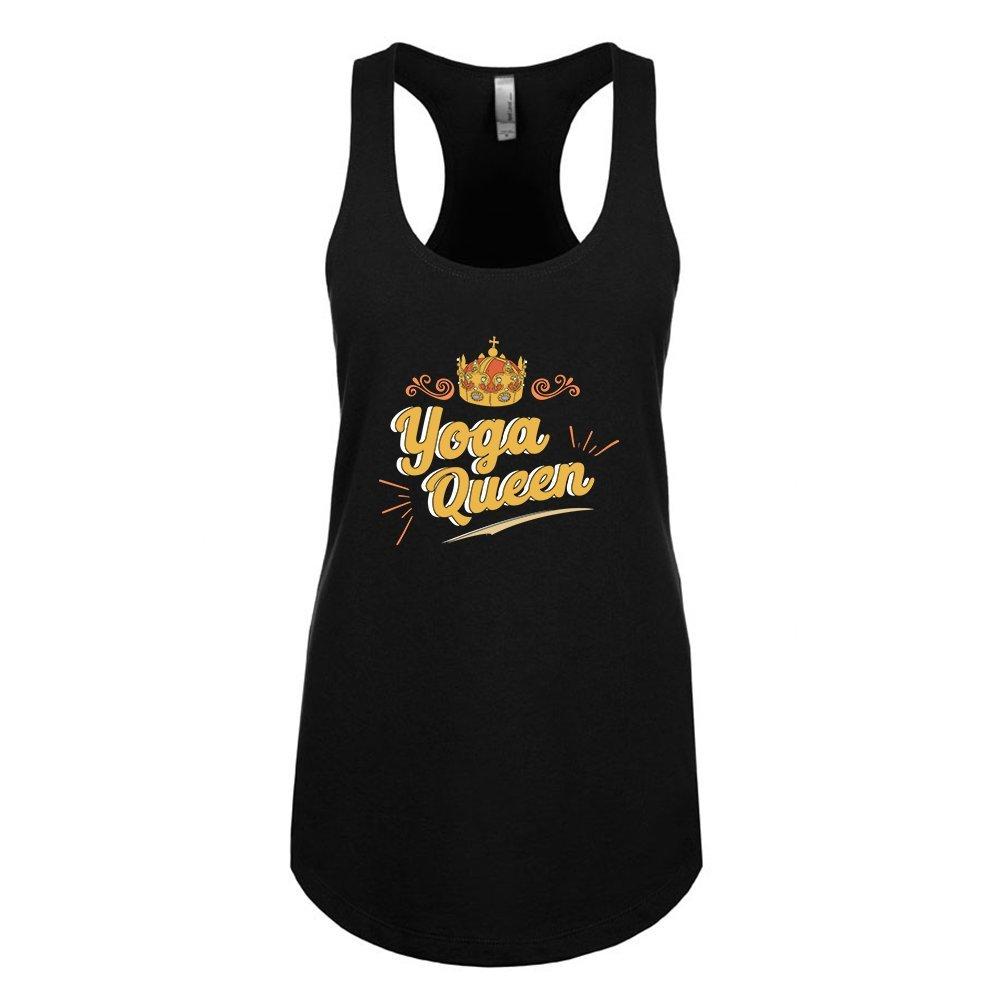 Mad Over Shirts Yoga Queen Unisex Premium Racerback Tank top