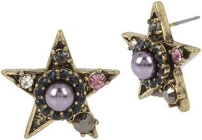 Miriam Haskell Star Stud Earrings