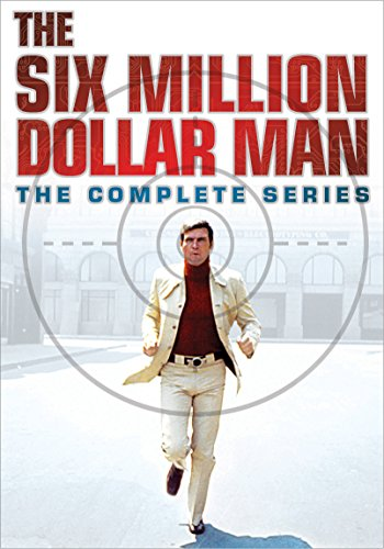 DVD : The Six Million Dollar Man: The Complete Series (Boxed Set, Snap Case, 33 Disc, Oversize Item Split)