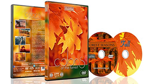 Nature DVD - 2 DVD Set - Colors of the Forest | Nature Scenery with Music and Nature Sounds