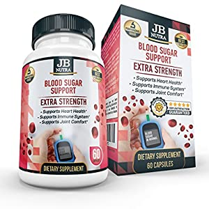 Blood Sugar Support - Diabetic Supplement, Multivitamin to Lower Blood Sugar by JB NUTRA