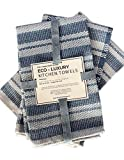 Eco Luxury Kitchen Towels Cotton Dish Cloths | Environmentally-Friendly & Sustainable, Upcycled Denim