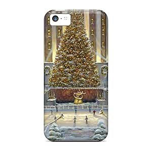 BHXnFDI586Qjstk Holiday Christmas Angels Fashion Tpu 5c Case Cover For Iphone