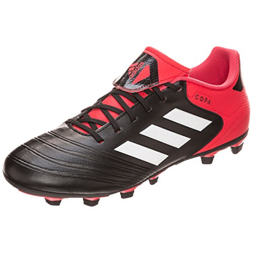 adidas Herren Copa 18.4 FxG Fußballschuhe Schwarz (Cblack/Ftwwht/Reacor)