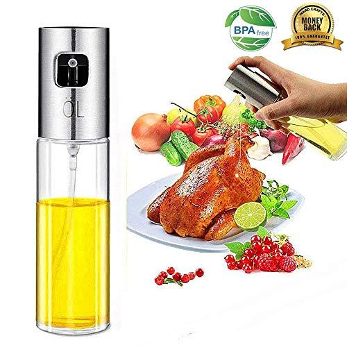 (Olive Oil Spritzer Sprayer Bottle for Cooking - Dispensers/Mister Bottle for Pan/Grill/BBQ/Cooking/Air Fryer/Salad/Roasting/Bread)