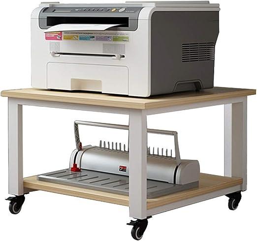 FFF8 - Estante para Impresora Debajo de la Mesa para Sala de Estar ...