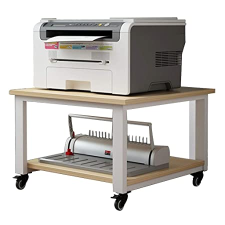 Weq - Estante para Impresora de bajo la Mesa para Sala de Estar ...
