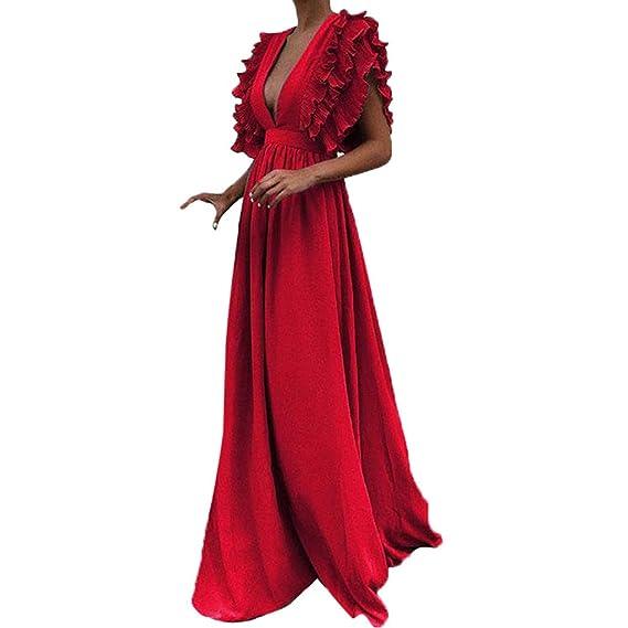 a piedi scatti di offrire sconti enorme inventario Vestito Scollato❀Abiti da Sera,Vestito Aderente Donna,Vestito ...
