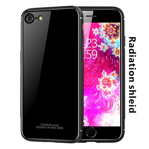 iPhone x/iPhone8/iPhone8 plus/iPhone7/ iPhone7 plus/ Case, Radiation protection Tempered glass TPU Cover Technology Bumper For iPhone 8 / iPhone 7