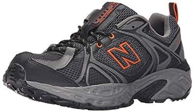 New Balance Men\u0027s 481v2 Trail Running Shoe, Black/Orange, ...