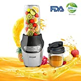 Hinsia FDA-approved Smoothie Blender 1000 Watt BPAfree Processor Juicer Blender and Smoothie Maker High Power Blender Shakes