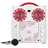 The Singing Machine Sml383yp Cd+g Karaoke Player [pink]