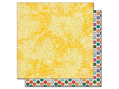 BasicGrey 12 x 12 in. Paper Second City Logan Square (25 sheets) (City Of Logan)