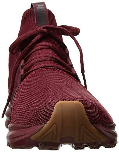 Cabaret 14 PUMA Men's US Enzo Shadow Dark Premium Sneaker Mesh M q78fB7AXw