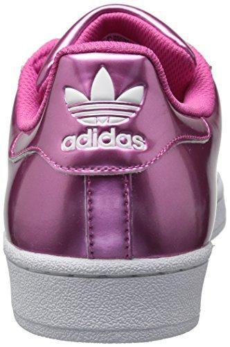 Adidas Womens Superstar Foundation Tillfälliga Gymnastiksko Rosor, Rosor, Ftwwht