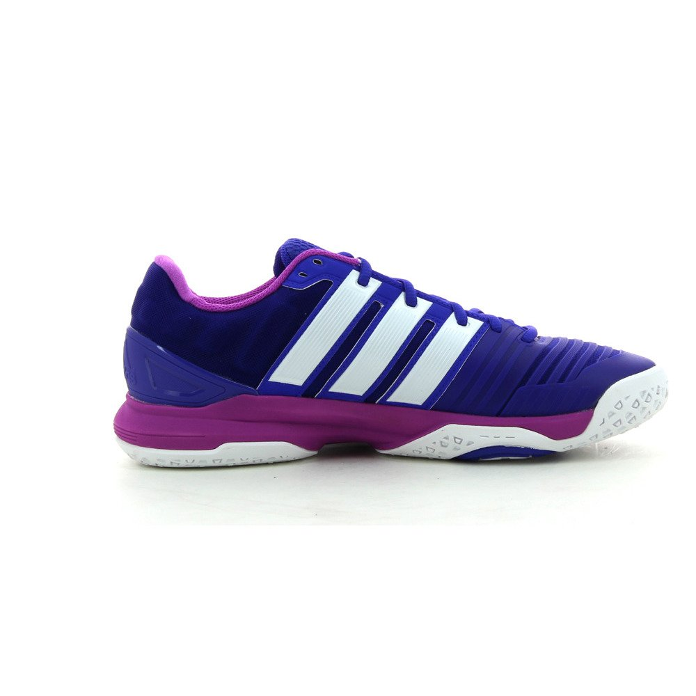 Adidas Adipower Adipower Adidas Stabil 11 Damens's Gerichtsschuh - SS15 blau/pink 5c9c97