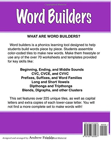 Word Builders: Building Words with Letters and Sounds (Literacy ...