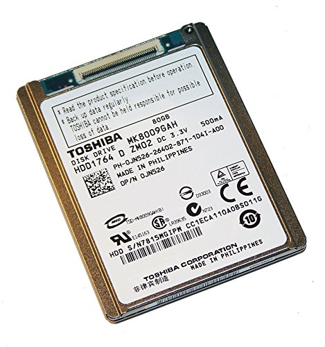 Toshiba MK8009GAH 80GB UDMA/100 4200RPM 2MB 1.8-Inch Mini Hard Drive