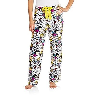 Peanuts Women's License Pajama Super Soft Plush Fleece Sleep Pants