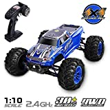 GPTOYS RC Car 1/10 4WD Off Road Vehicle 2.4GHz Remote Control Truck Waterproof S920 for Adults and Kids Christmas New Year Gifts for Boys