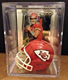 Kansas City Chiefs NFL Helmet Shadowbox w/ Alex Smith card