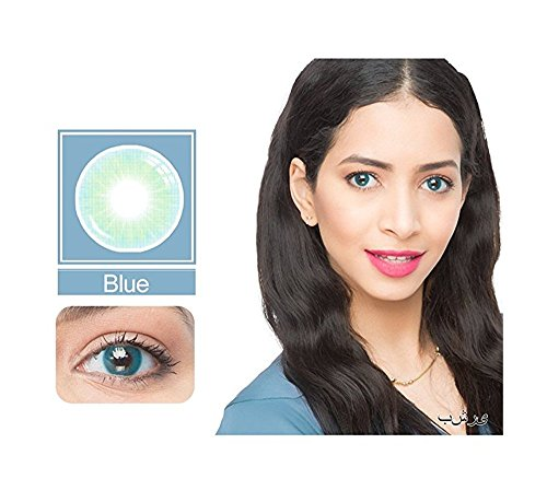 GoMorning Unisex Multicolor Cute Charm and Attractive Contact Lenses (2 PCS) (Novelty Contact Lens)