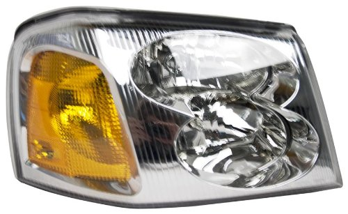 OE Replacement GMC S15 Jimmy/Envoy Passenger Side Headlight Assembly Composite (Gmc S15 Jimmy Headlight)