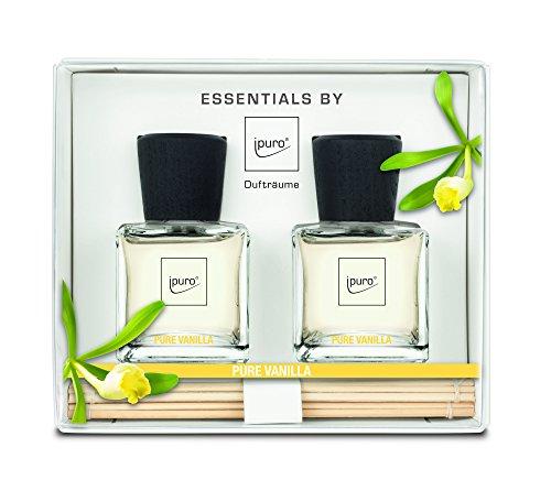 ipuro Pure Vanilla Raumduft Geschenkset 2 x 50ml, 1er Pack (1 x 100 ml)