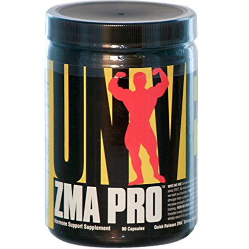 Universal Nutrition, ZMA Pro, Hormone Support Supplement, 90 Capsules - 2pc by Universal Nutrition