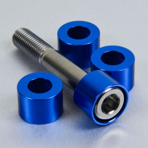 Aluminium Cup Washer M10 Blue by Pro-Bolt (Image #2)