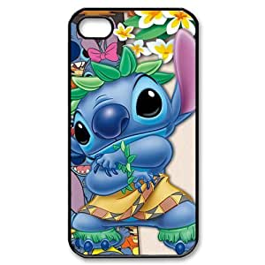 Customize Cartoon Lilo & Stitch Back Cover Case for iphone 4 4S JN4S-1912