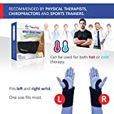 Wrist Ice Pack Wrap by TheraPAQ: Hand Support Brace