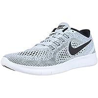 NIKE Men's Free RN Running Shoe White/Pure Platinum/Black Size 15 M US