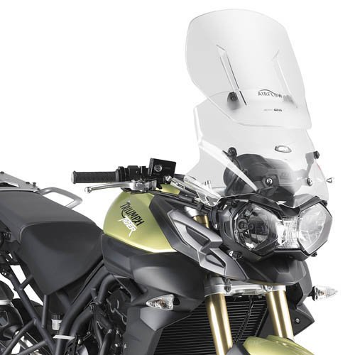 (Givi AF6401 Airflow Adjustable Wind Screen - Triumph Tiger 800/XC)