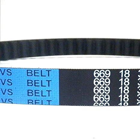 Baotian BTM BT49QT-11 Retro Drive Belt 669 18 30